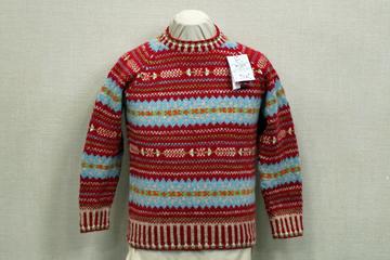 手編みセーターのページに移動します