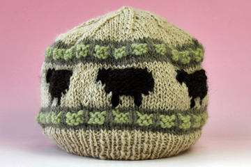 手編みニット帽のページに移動します